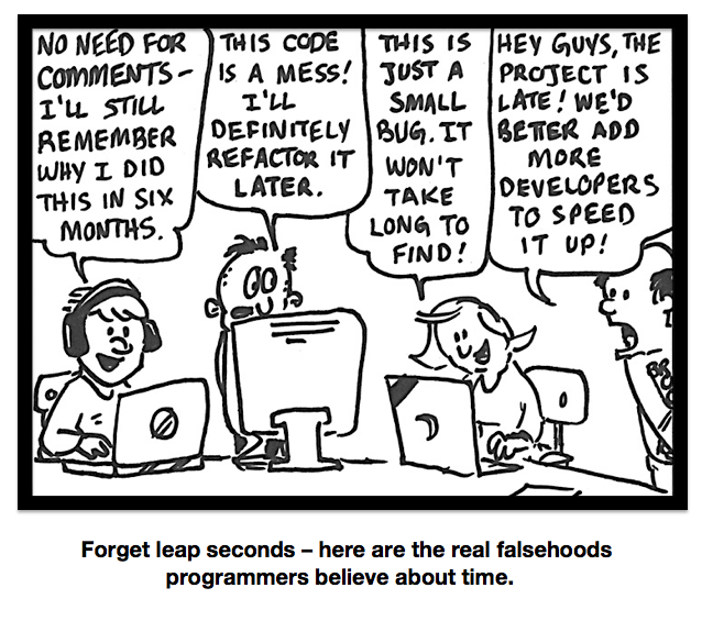 Falsehoods About Time